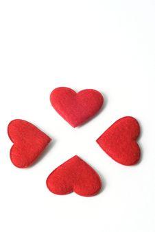 Free Valentine Heart´s Stock Photography - 3995632