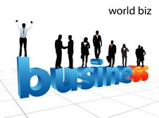 Free Business People Royalty Free Stock Image - 3995696