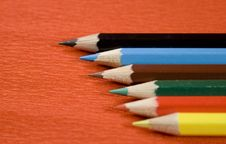 Free Colored Pencils Royalty Free Stock Image - 3995706