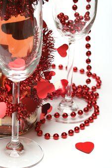 Free Valentine Champagne Stock Photos - 3996463