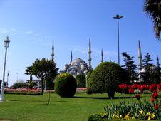 Blue Mosque Turkey Stock Photo