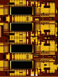 Free Circuit Board Royalty Free Stock Photography - 3996997