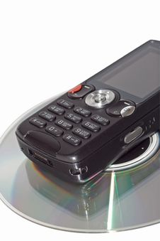 Free Cellular On Cd 2 Stock Photo - 3997080