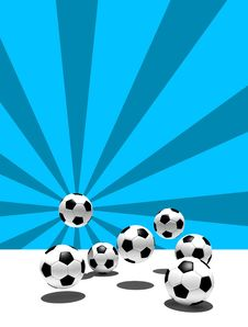 Free Soccer Balls Royalty Free Stock Photography - 3997257