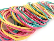 Free Rubber Bands Royalty Free Stock Image - 3997546