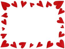 Free Paper Hearts Royalty Free Stock Photos - 3997548