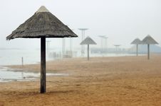 Free Beach Umbrella Stock Photo - 3997760