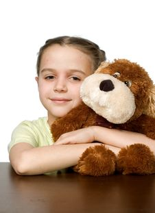 Free Pretty Girl With Toys Royalty Free Stock Photography - 3998437
