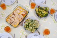 Free Dinner Table Royalty Free Stock Photos - 3998968