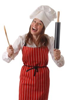 Free Happy Chef Royalty Free Stock Photography - 3998977