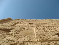 Free Wall Template Karnak Luxor Stock Photo - 3999250