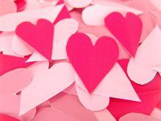 Free Paper Hearts Royalty Free Stock Photo - 3999525