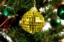 Free Yellow Ornament Stock Photo - 43700
