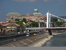 Free Buda Castle And Elizabet Bridge, Budapest, Hungary Stock Photography - 44402