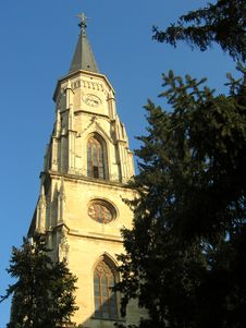 Free Saint Michael Cathedral Tower - Cluj-Napoca, Romania Royalty Free Stock Images - 44789