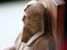 Free Sphinx Bookend Stock Photography - 47162