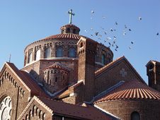 Free Church Roof Royalty Free Stock Photo - 48075