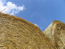 Free Hay Bales Royalty Free Stock Images - 48919
