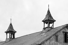 Free Barn Steeples Royalty Free Stock Photo - 49775
