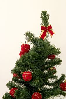 Free Christmas Tree Top Royalty Free Stock Photos - 401118