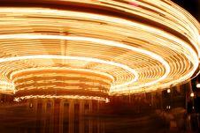 Carousel Blur 2 Royalty Free Stock Image
