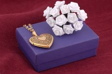 Free Heart Locket Royalty Free Stock Photo - 402255