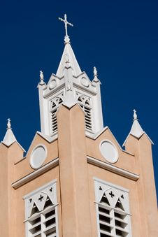 Free Albuquerque Church 2 Stock Photo - 402310