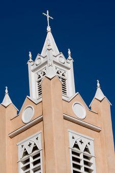 Albuquerque Church 2 Stock Photo