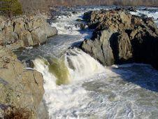 Great Falls Virginia Royalty Free Stock Photo