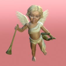 Free Valentine Cherub 1 Stock Photo - 402700