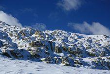 Free Snowy Mountain Royalty Free Stock Photos - 402728