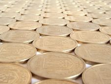 Free Coins 14 Royalty Free Stock Images - 405069