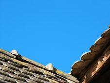Roof And Roof Royalty Free Stock Photography