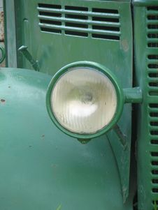 Free Vintage Truck Lamp Stock Image - 405891