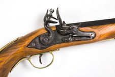 Free Antique Pistol 3 Royalty Free Stock Photos - 406008
