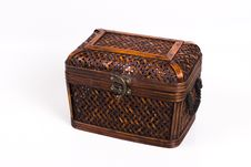 Rattan Box 5 Stock Images