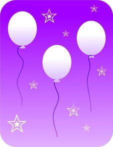 Free Retro Balloons Royalty Free Stock Photos - 406338