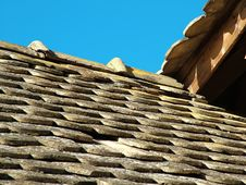 Roof & Roof Royalty Free Stock Photo