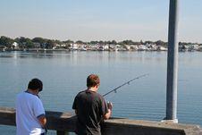 Free Kids Fishing Royalty Free Stock Photo - 409965