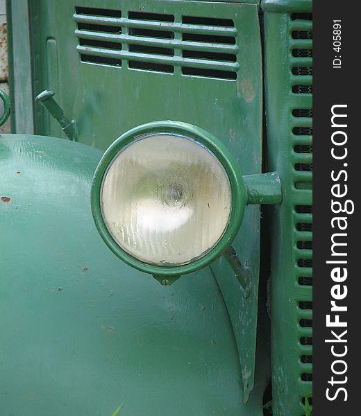 Vintage truck lamp