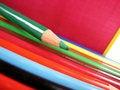 Free Wooden Crayon Stock Image - 4002841