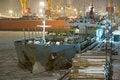 Free Moored Cargo Ship Stock Photos - 4003513