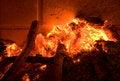 Free Warm Fireplace Stock Photography - 4003862