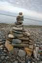 Free Tower Made Of Pebbles Stock Photography - 4004832