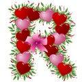 Free Letter R - Valentine Letter Stock Images - 4009194