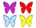 Free Butterfly Samples Royalty Free Stock Photos - 4009408