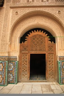 Free Decorative Palace Doorway Stock Photography - 4000132