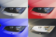 Free Modern Car Royalty Free Stock Photography - 4000347
