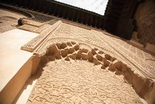 Moroccan Architeture Royalty Free Stock Photos