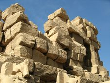 Free Egypt - Temple Wall Karnak Stock Image - 4000451